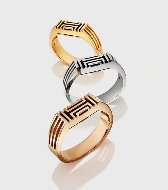 3. A glammed out Fitbit by Tory Burch
