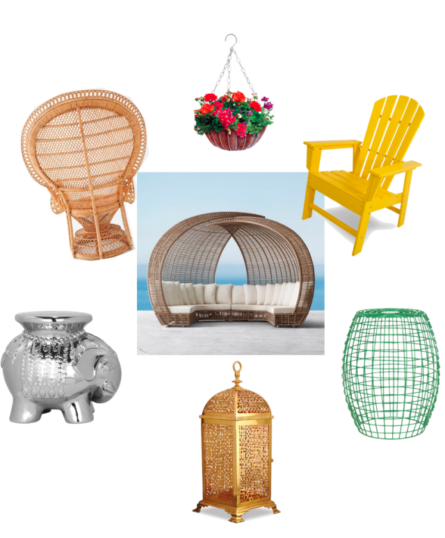 Detailed & Delighted: Lovely Lawn Furniture