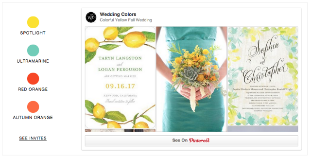 Detailed & Delighted // Wedding Wednesday: Colors with Wedding Paper Divas