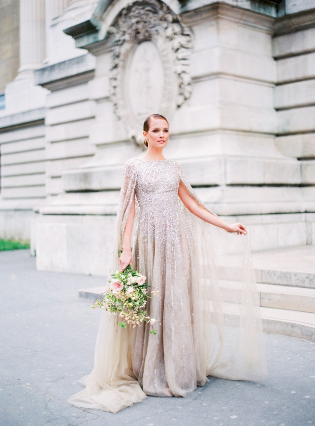 Detailed & Delighted // Wedding Wednesday: Glittering Summer Gowns