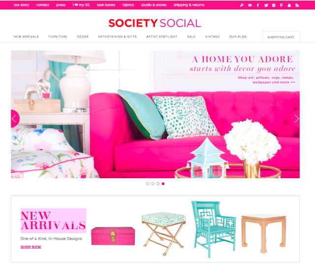 Detailed & Delighted: Perfectly Styled // Spotlight on Society Social