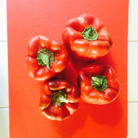 Detailed & Delighted // Culinary Couture: Baked Stuffed Italian Peppers